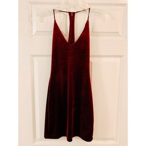(NWT) Urban Outfitters Velvet Dress